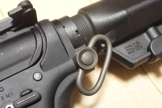 G&P製 WA M4用QDスイベルプレートをE&L M4に取り付けてみた