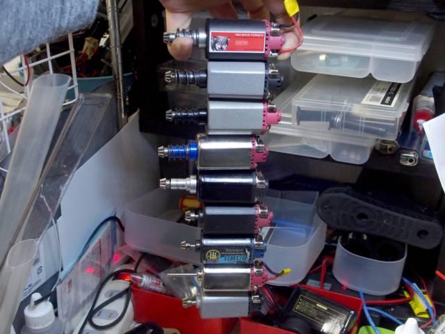 色々な電動ガン用のモーターを試してみての個人的な見解とオススメモーター