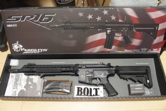 BOLT SR-16 URX E3 B.R.S.Sをお借りしたのでレビューします。