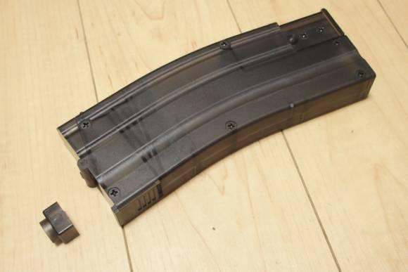 KSC製BBローダー、M4クイックローダーを東京マルイ系のガスガンで使えるようにしました