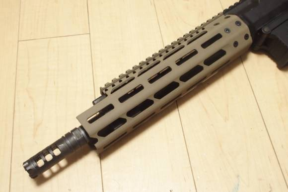 KSC Mega Arms MML MATEN ショートバレルカスタム(とりあえず完成)