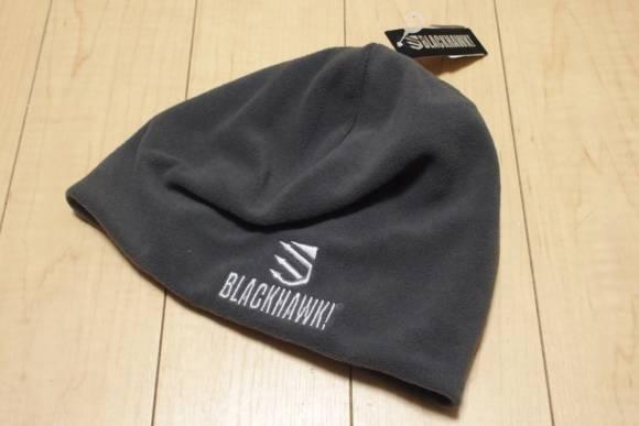 BLACKHAWK!のニット帽 ブラックホーク ワッチキャップ ビーニー マイクロフリースを買ってみた