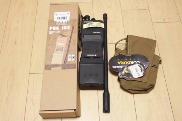 FMA製 PRC152 ダミー無線機と、TMC製5.56 7.62 MBITRポーチを買いました