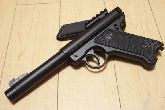 KJ Works スタームルガー Mk-1 .22 Target Pistol SILENT EVOを買ってみた