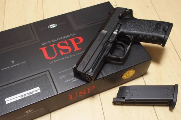 東京マルイ ガスブローバックハンドガン H&K USPを買ったのでレビューしていきます