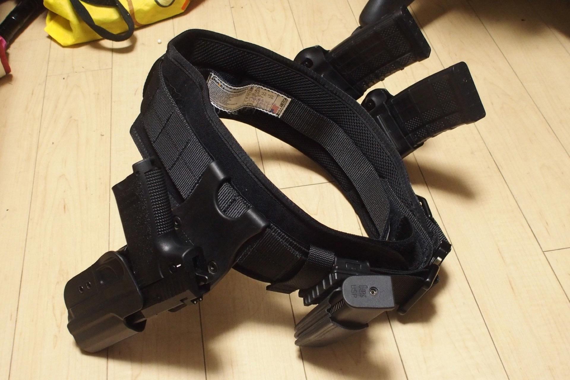 FUSION EPIC BATTLE BELTをサバゲーで使ってみた(腰回り装備の完成形 ...