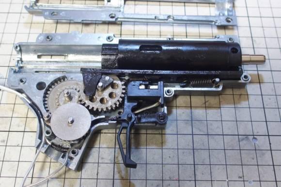 APS Phantom Extremis Mark V(PER705)の内部カスタム(電気うましか 中トロ組み込み)