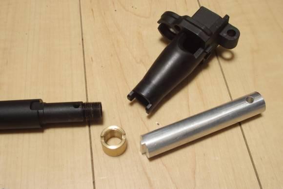 東京マルイ ガスブロ 89式のアウターバレルを分解する為の工具を作ったのでバラしました