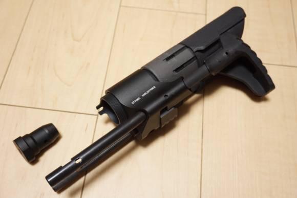 Strike Industries Viper PDWストックのレプリカ(GBB M4用)を買ってみた