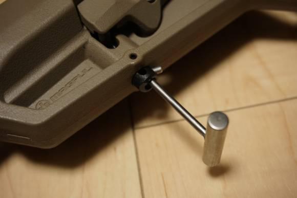 MAGPUL系ストックを外すのに便利な工具『ストックキー』を買ってみました