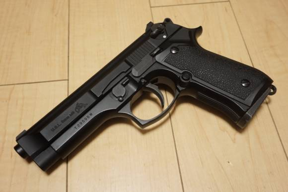 東京マルイ M92F マシンピストル カスタム 『Dolphin FS』の完成品を手に入れたのでレビューします