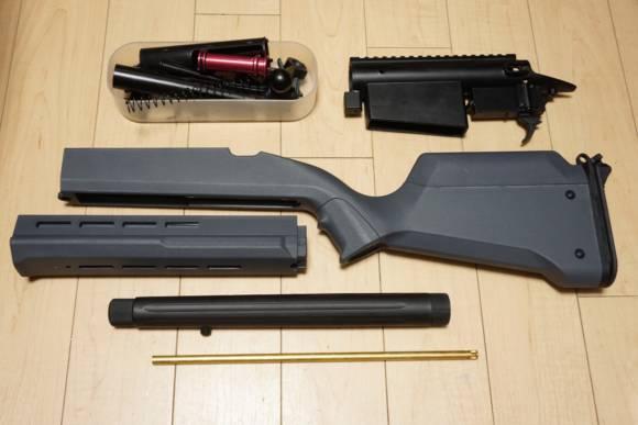 ARES製ボルトアクションライフル AMOEBA STRIKER AS-02の分解レビュー