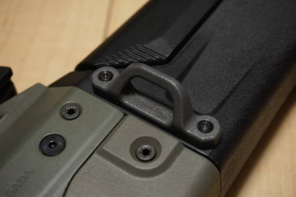 LayLax製 PTS MASADA用 イージー ハンドガード ロックピンと、PTS製シングルポイントスリングスイベルを買ってみた