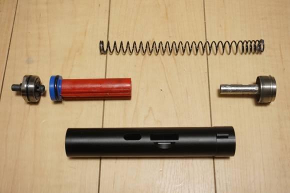 Alpha Parts製 SYSTEMA PTW用加速シリンダー M90を買ってみた