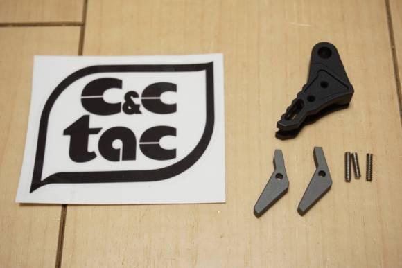 C&C製 東京マルイGlockシリーズ用 Velocity Armsタイプ カスタムトリガーを買ってみた