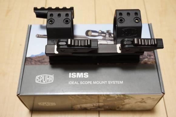 SPUHR製ワンピースマウントリング QDP-4602 Ø34 H38MM 6MIL QDPとA-0003ピカティニーレール、その他諸々買いました